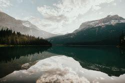 art lake design landscape trees triangle mountains calm 3d