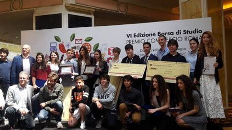 commercio roma premio commercio roma 2017 a euroma2 borse di studio per