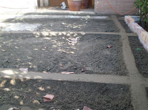 fare un pavimento massetto per esterno pavimenti a roma