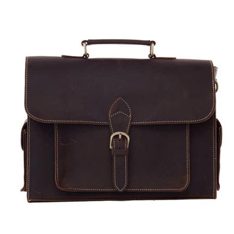 genuine leather briefcase men messenger shoulder bag men