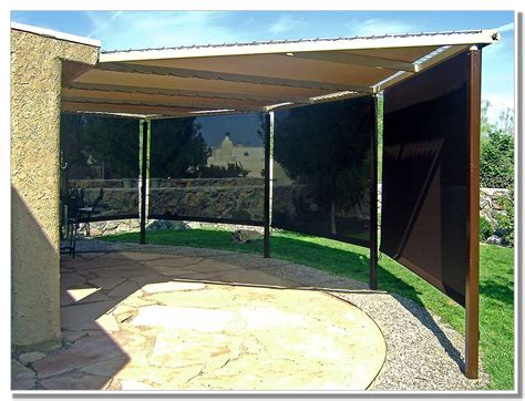 outdoor patio wind blockers home design ideas and pictures