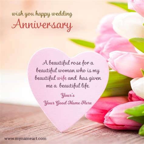 Wedding Anniversary Cards And Messages by Anniversary Cakes With Name Edit Free