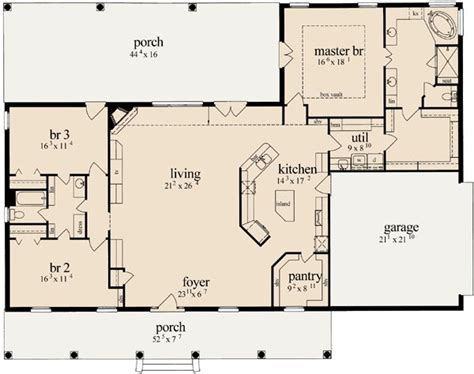 open floor house plan 25 best ideas about open floor plans on pinterest open