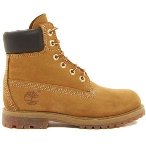 timberland 6 inch premium lace up beige flat boots 126