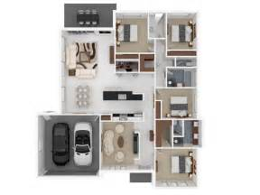 floor plans for 4 bedroom houses 50 four 4 bedroom apartment house plans architecture