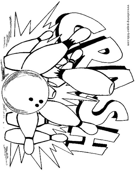 bowling ball coloring page do bowling colouring pages