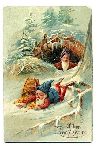 new year vintage greeting cards free vintage happy new year greeting cards elves with