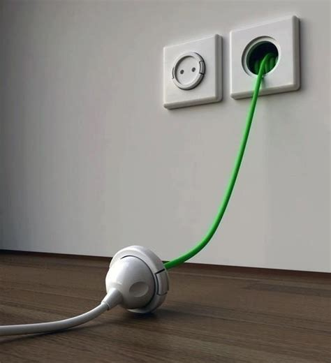 Decorative Extension Cord by Built In Wall Extension Cord Home Decor
