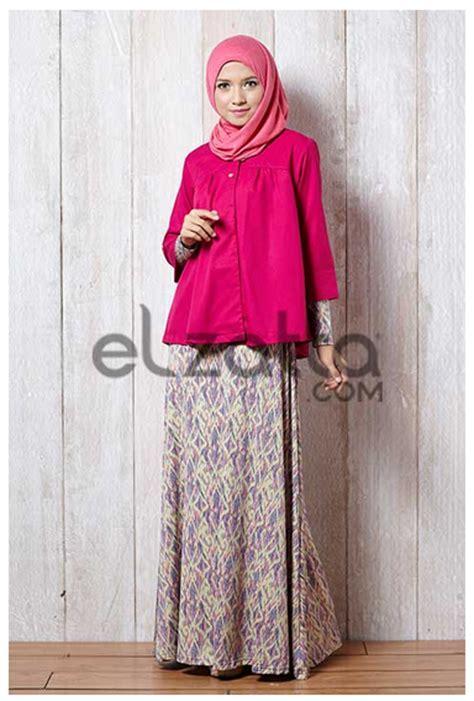 Gamis Pesta Elzatta 2015 contoh foto baju muslim modern terbaru 2016 koleksi