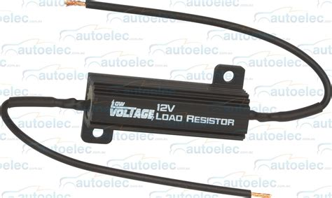 12 volt led load resistor low voltage led load resistor 12v volt bullbar front rear indicators lvo490