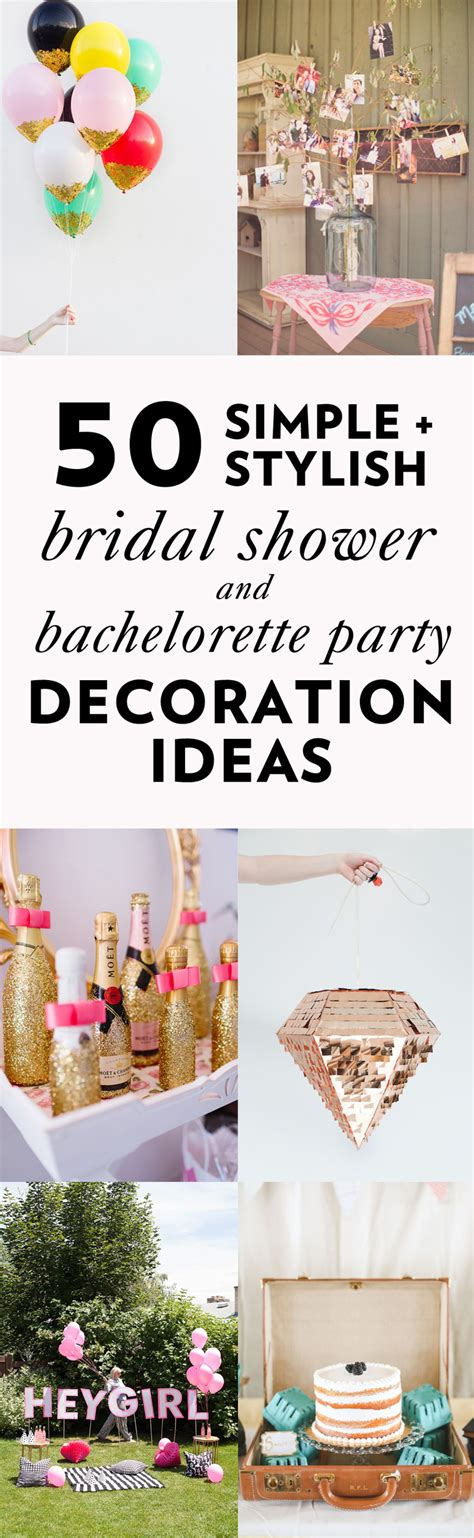 easy to play at bridal showers 50 simple and stylish diy bridal shower bachelorette