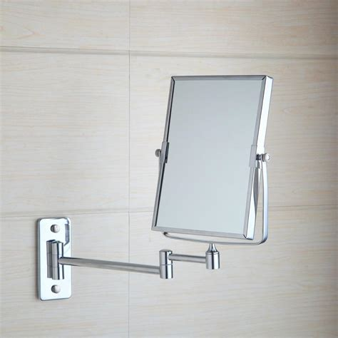 bathroom makeup mirror wall mount 92 bathroom makeup mirror wall mount double rectangular