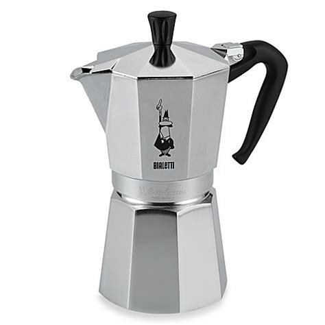 espresso maker bialetti 174 moka express 9 cup espresso machine bed bath