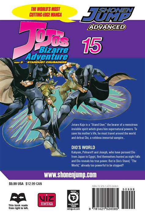 jojo s adventure part 3 stardust crusaders vol 5 jojo s adventure part 3 stardust crusaders vol