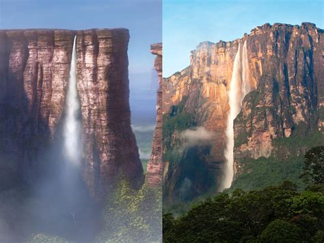 up film waterfall 17 real world locations that inspired disney movies