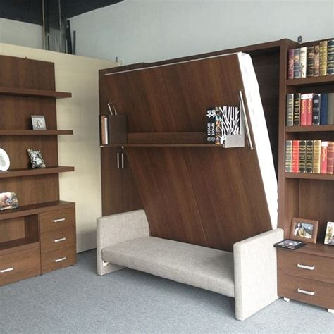 space saving furniture  small living room folding wall