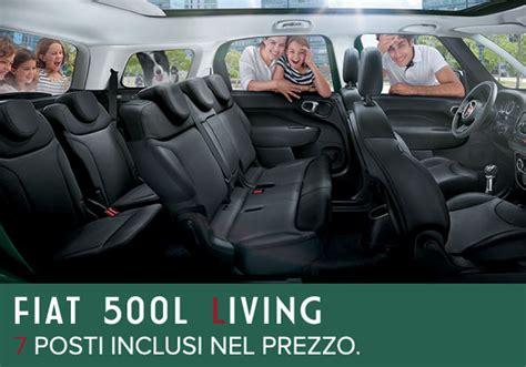500l living interni fiat 500l living 7 posti interni