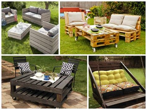 furniture ideas garden furniture ideas from repurposed pallets 1001 pallets
