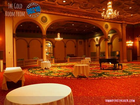 gold room los angeles the millennium biltmore hotel s gold room from quot beverly