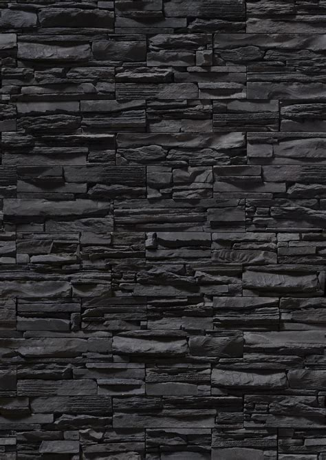black brick wall black stone wall texture stone stone wall download background black stone background