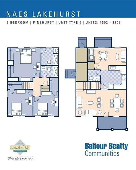 5 bedroom townhouse floor plans jb lakehurst pinehurst estates 3 bedroom townhouse