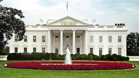 trump white house residence 20 ways the world will change if donald trump is elected