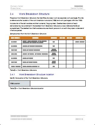 Project Plan Template Download Ms Word Excel Forms Spreadsheets Project Startup Template