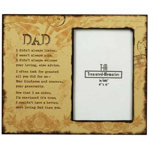 memorial picture frames quot loving quot memorial photo frame thinking of my dads frames and