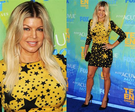 Fergie I Was A Teenaged by Fergie Wears Dolce And Gabbana At 2011 Choice Awards