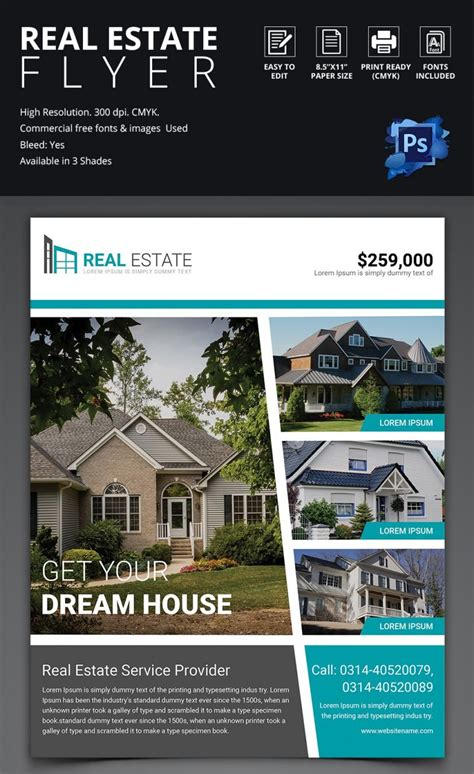 open house template open house flyer template 30 free psd format