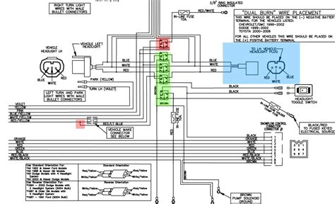 wiring diagram for minute mount 2 fisher plow western plow