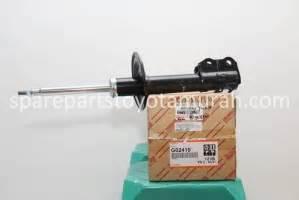 Shock Absorber Grandis Depan Ori shock absorber depan original yaris new vios
