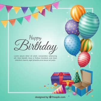 birthday vectors, photos and psd files | free download
