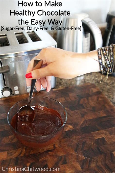 How To Make Healthy Chocolate The Easy Way Sugar Free