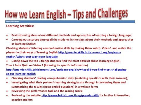 themes for an english presentation how we learn english presentation elka oct 17