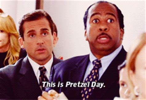 Pretzel Day The Office by Pretzel Day