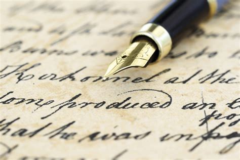 Pen Writing On Paper Your Friendly Neighbourhood Author Writing Tools For