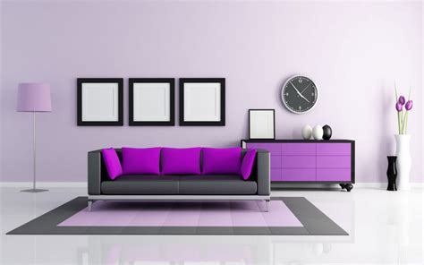 Purple Colour Combination For Living Room - 10 best wall color combinations to try in 2019 for your