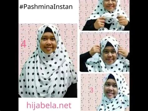 youtube tutorial hijab pasmina syar i 08811232410 tutorial hijab simple pashmina instan hijabela