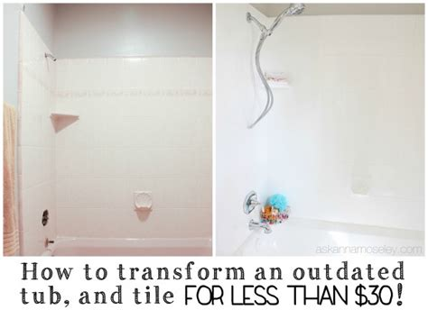 Years Bathtub by Rust Oleum Tub And Tile Refinishing Kit A Year Later