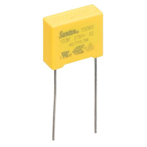 where to order capacitors suntan ts08s02s103kab0d0r 0 01 181 f 177 10 275vac x2 polypropylene capacitor rapid