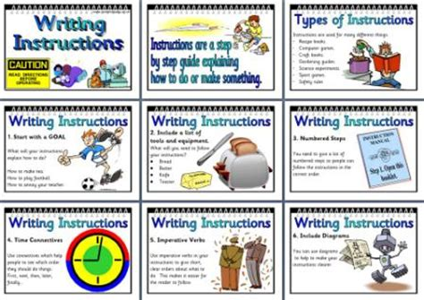 features of a biography ks2 display ks2 literacy resource features of instruction texts for