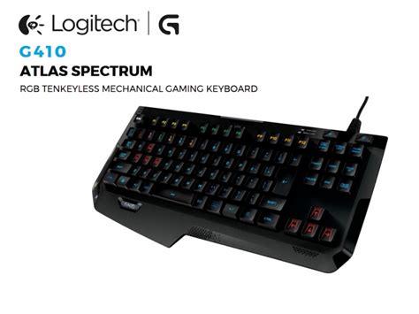 New Logitech Keyboard Kyboard Gaming Nyk Tkl K 01 Led Murah Terbaik logitech unveils g410 atlas spectrum tkl keyboard
