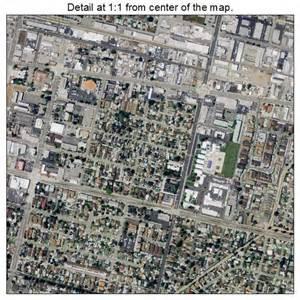 aerial photography map of covina ca california
