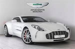 Aston Martin 1 77 An Aston Martin One 77 Can Be Yours For 3 35 Million