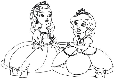clover coloring page free sofia the first coloring pages sofia the first coloring pages az coloring pages