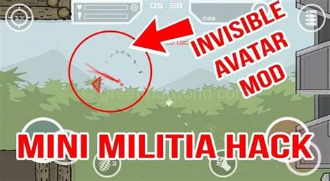 mod game mini militia mini militia ghost mod apk for android free download