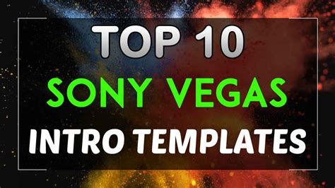 top 10 free intro templates 2017 sony vegas pro 13 14