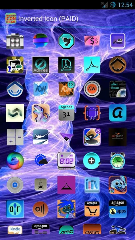play store themes free inverted icon theme free android apps on google play
