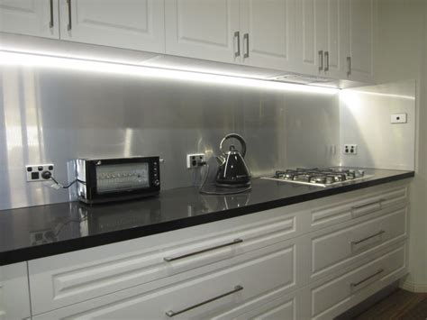Kitchen Range Backsplash 17 Best Images About Metaline Splashback In Brushed
